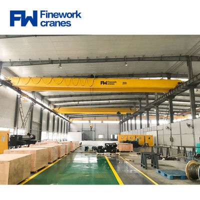 Easy Operate 20T Double Girder Overhead Traveling Crane