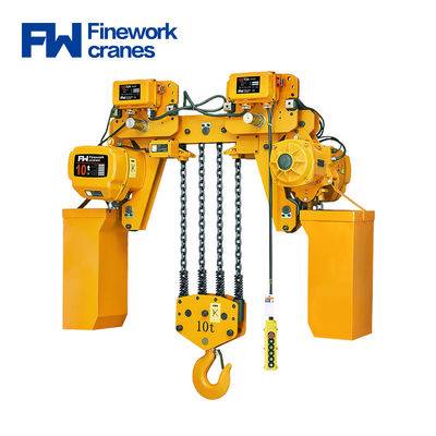 Manufacturing hoisting trolley 250kg 2 ton electric chain hoist