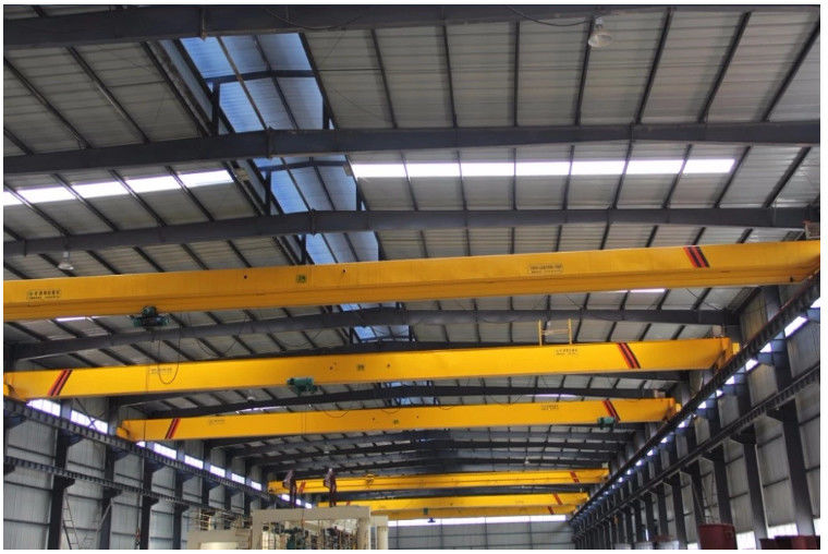 31.5m Span 30ton Single Girder Overhead Crane Lifting Equipment