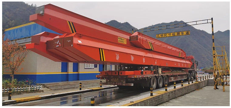 Single Girder  2 Ton 5 Ton Remote Control Overhead Crane